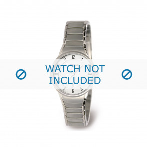 Boccia watch strap 3158-01 Titanium Silver 14mm