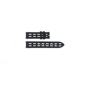 Breil watch strap BW0400 / F260053257 / F260053260 Rubber Black 22mm