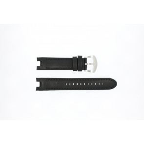 Watch strap Buddha to Buddha 46mm / BTB.M.D.3H.02 Leather Black 21mm