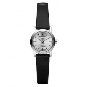 Watch strap Burberry BU1761 Leather Black