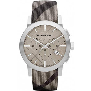 Watch strap Burberry BU9358 / 7177852 Leather Multicolor 20mm