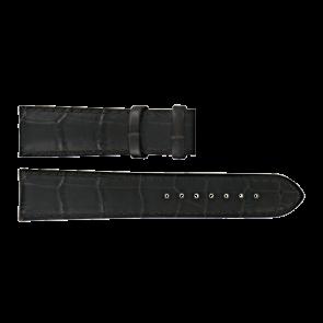 Certina watch strap C610015781 Leather Dark brown 21mm + brown stitching