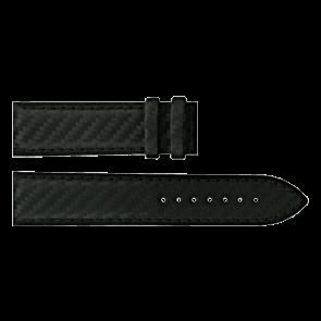 Certina watch strap C610016427 Leather Black 21mm + black stitching
