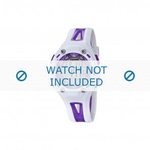Calypso watch strap K5666-2 Plastic Purple 21mm