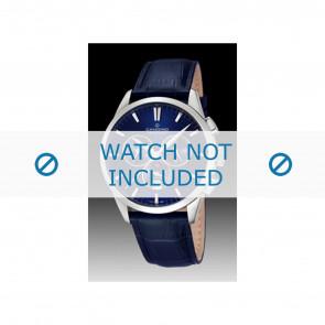 Candino watch strap C4517-3 Leather Blue + blue stitching