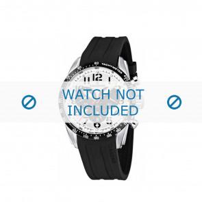 Watch strap Candino C4472 Rubber Black 22mm