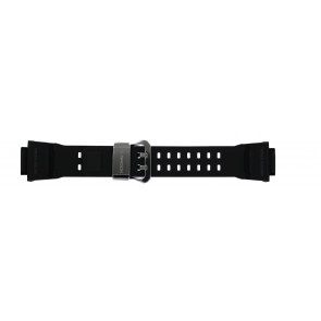 Watch strap Casio GW-9400-1 / 10455201 Plastic Black 19mm