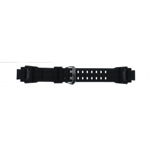 Casio watch strap GA-1000-1AV Silicone Black 22mm