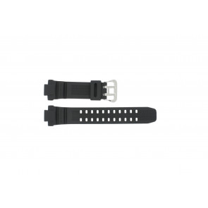 Casio watch strap G-1000-1A Rubber Black 14mm