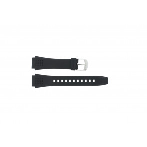 Watch strap Casio EFA-124-1AVW / 10268556 Plastic Black 20mm