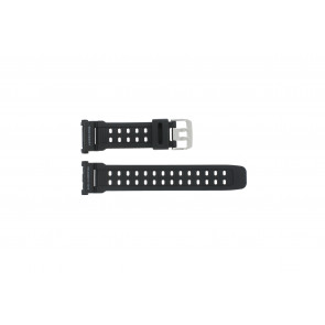Watch strap G-9000-1 Silicone Black 27mm