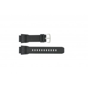 Casio watch strap G-9300-1 / 10388870 Silicone Black 20mm