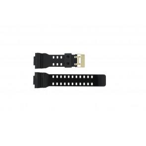 Casio watch strap A-110GB-1A Rubber Black 16mm