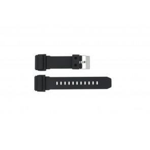 Casio watch strap GD-400-1 Rubber Black 26mm