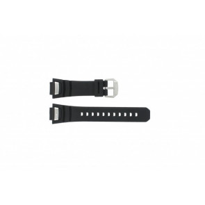 Watch strap GS-1000J-1A / 10212982 / 10332054 Silicone Black 16mm