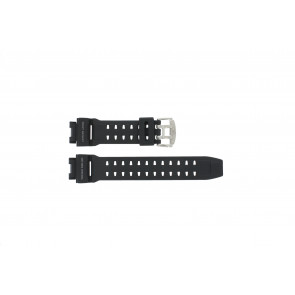 Casio watch strap GW-9110-1D Rubber Black 16mm
