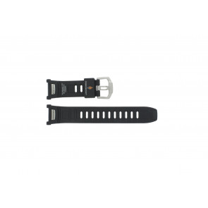 Casio watch strap PAW-1500-1VV Rubber Black 16mm