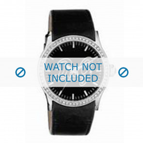 Dolce & Gabbana watch strap DW0267 Leather Black