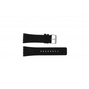 Danish Design watch strap IQ12Q641 / IQ12Q767 / IQ14Q641 / IQ13Q641 Leather Black 28mm