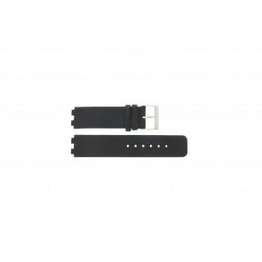Danish Design watch strap IQ13Q523 / IQ12Q523 Leather Black 16mm
