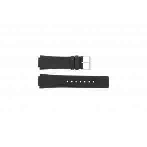 Danish Design watch strap IQ13Q1007 / IQ12Q884 / IQ12Q1007 Leather Black 16mm