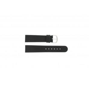 Watch strap Danish Design IQ13Q272 / IQ12Q272 / IQ14Q199 / IQ16Q563 Leather Black 18mm