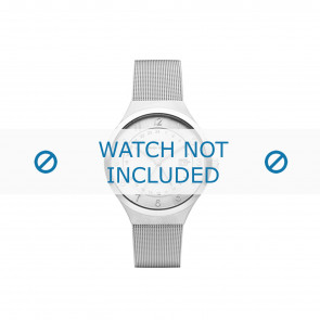 Watch strap Danish Design IQ62Q1114 Steel Steel 19mm