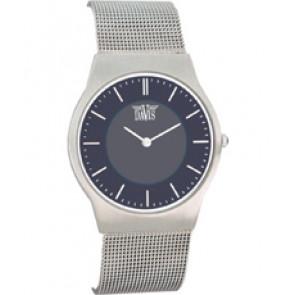 Watch strap Davis 9800 / BB980018 Steel Steel
