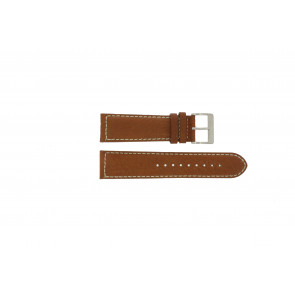 Davis watch strap BB0451.24L Leather Light brown 24mm