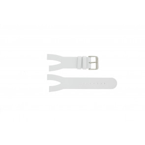 Davis watch strap BB1401 Leather White 30mm