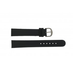 Danish Design watch strap DD18mmXL Leather Black 18mm