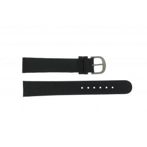 Watch strap Danish Design DD18mmXL Leather Black 18mm