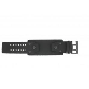 Watch strap Diesel DZ4272 Leather Black 26mm
