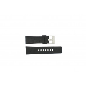 Watch strap Diesel DZ1207 Leather Black 26mm