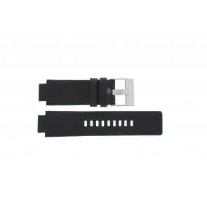 Watch strap Diesel DZ1089 / DZ1186 / DZ1091 / Leather Black 18mm