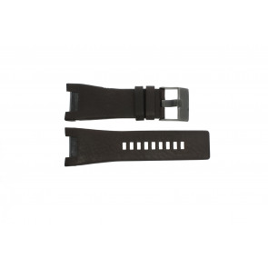 Watch strap Diesel DZ1216 Leather Brown 32mm