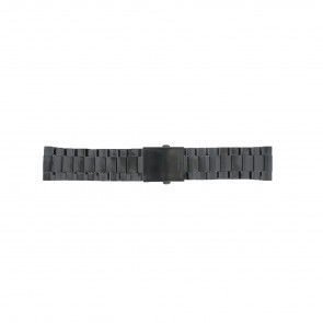 Watch strap Diesel DZ4318 / DZ4283 / DZ4316 / DZ4355 / DZ4309 / DZ4338 Steel Black 26mm