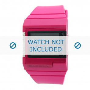 Diesel watch strap DZ7133 Silicone Pink 23mm