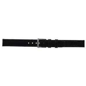DKNY watch strap NY-3434 Leather Black 14mm