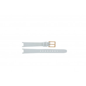 DKNY watch strap NY8784 Leather White 13mm + default stitching