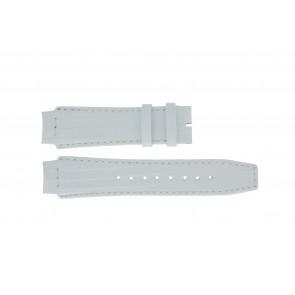 Watch strap Dolce & Gabbana DW0257 Leather White 18mm