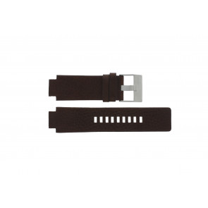 Diesel watch strap DZ1123 / DZ1090  Leather Brown 18mm