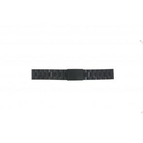 Fossil watch strap FS4775 Metal Black 22mm