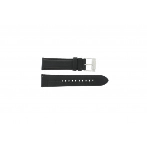 Fossil watch strap FS-4745 Leather Black 22mm