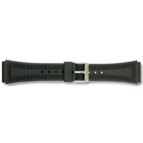 Watch strap Universal P53 Plastic Black 20mm