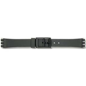 Watch strap Universal P38 Plastic Black 12mm