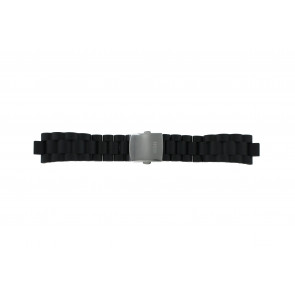 Guess watch strap I15056L1 Rubber Black 10mm
