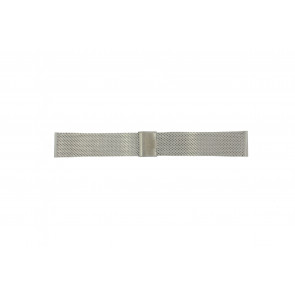 Davis watch strap BB0810 Steel Silver 24mm