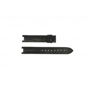 Guess watch strap GC24001L2 / GC15000 Leather Black 16mm