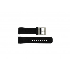 Guess watch strap GC35006G1 / GC40500G1 / GC45005G Rubber Black 24mm